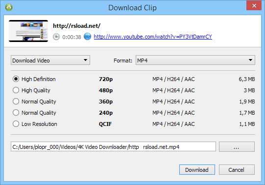 4k Video Downloader 4.5.0.2482 Crack With serial Key & Patch