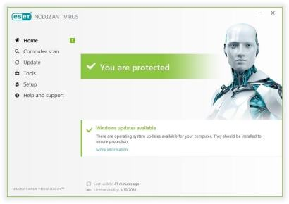 NOD32 Antivirus 12 Activation Key Free Download