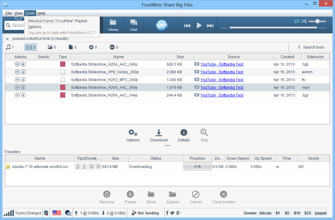 FrostWire 6.8.0 Serial Key Full Version [Latest]
